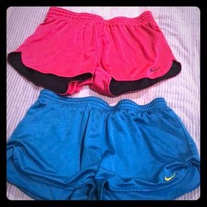 Nike athletic shorts (2 pairs!!!!!!!!)